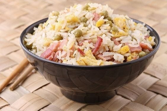 Weight Watchers Microwave Fried Rice