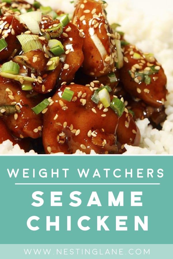 Weight Watchers Sesame Chicken