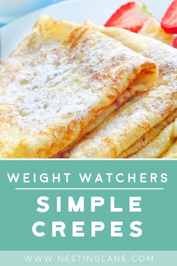 Weight Watchers Simple Crepes