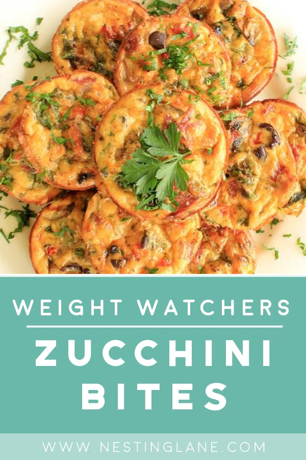 Weight Watchers Zucchini Bites