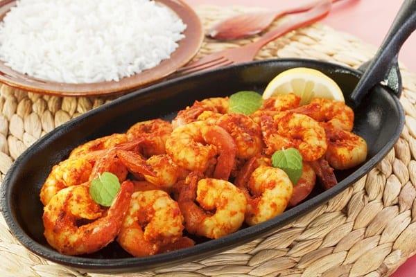 Weight Watchers Chinese Szechwan Shrimp