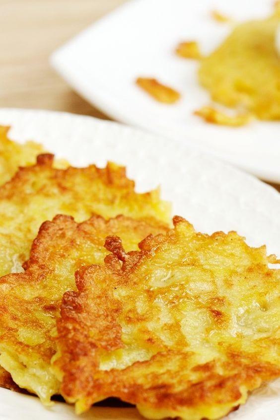 Baked Latkes (Potato Pancakes)