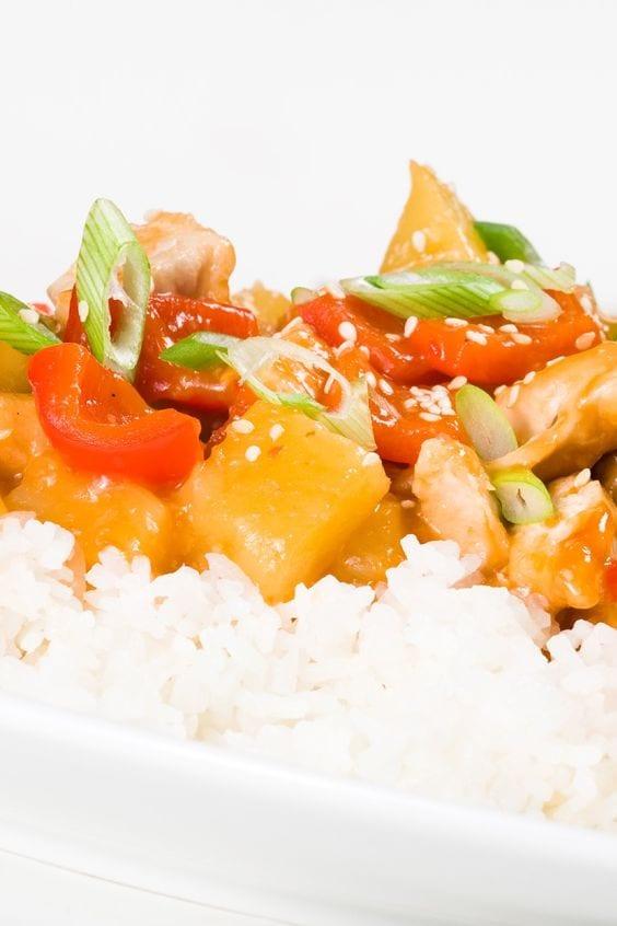 Weight Watchers Chinese Chicken Pineapple Stir-Fry