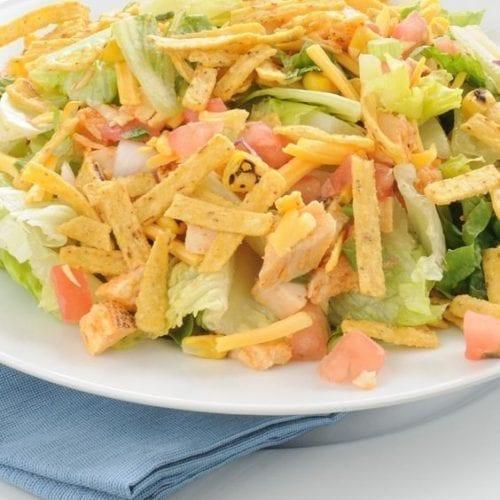 Weight Watchers Chicken Taco Salad