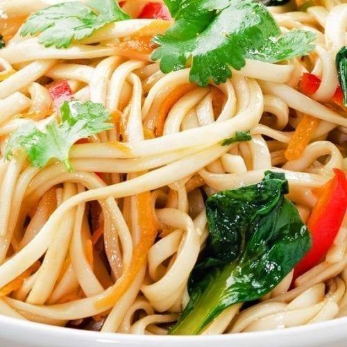 Weight Watchers Yakisoba Noodle Stir Fry