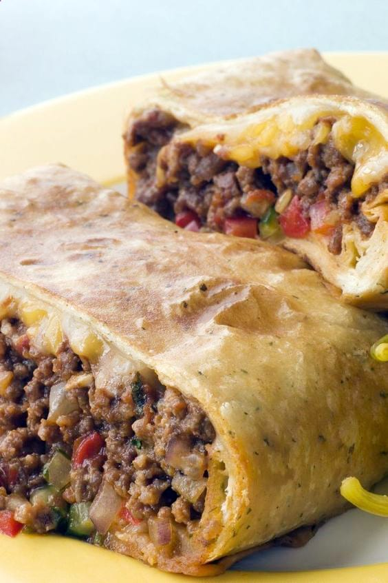 Weight Watchers Mexican Chimichangas