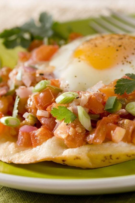 Weight Watchers Mexican Huevos Rancheros
