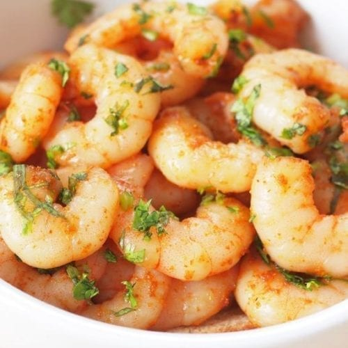 Weight Watchers Spicy Baked Shrimp