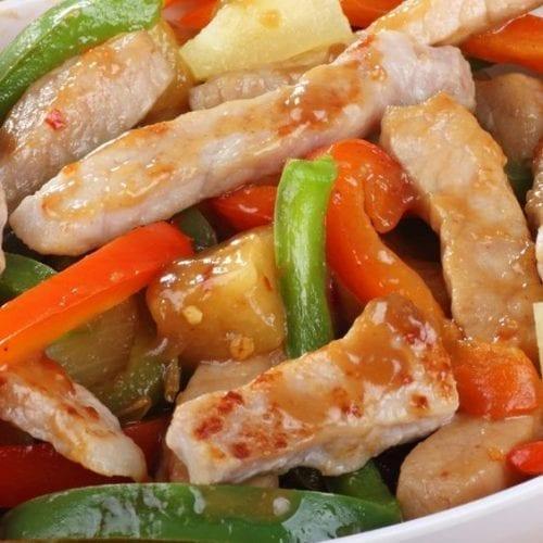 Healthy Sweet & Sour Pork