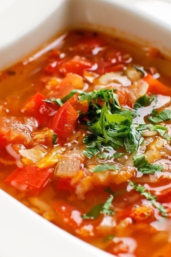 Weight Watchers Vegetable Tortilla Soup