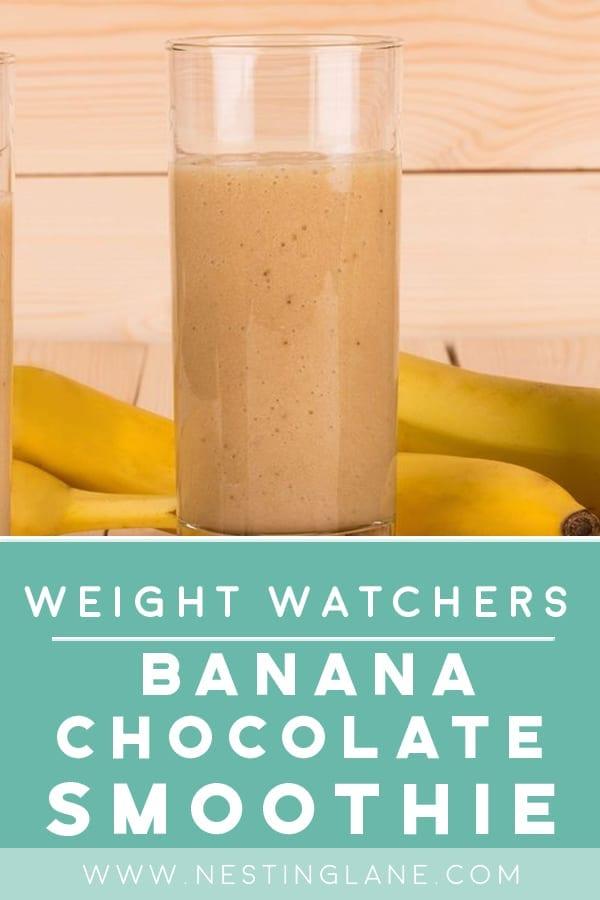 Weight Watchers Banana Chocolate Smoothie