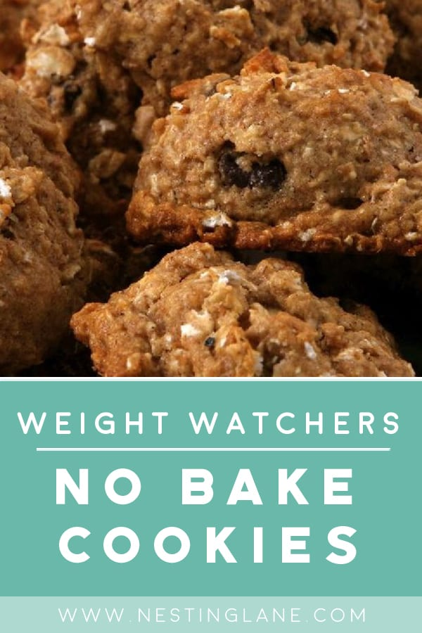 Weight Watchers No-Bake Cookies
