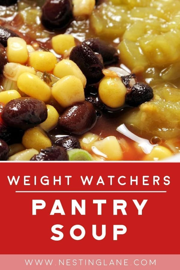 Weight Watchers Pantry Soup