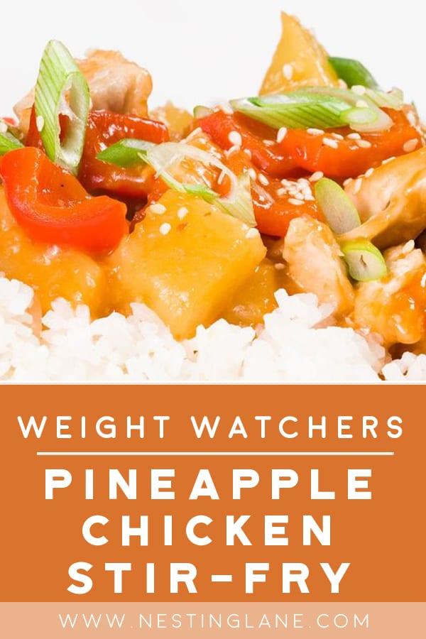 Weight Watchers Pineapple Chicken Stir-Fry