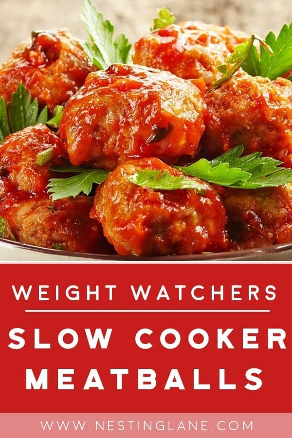 Weight Watchers Slow Cooker Meatballs