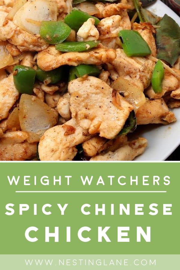 Weight Watchers Chinese General's Chicken