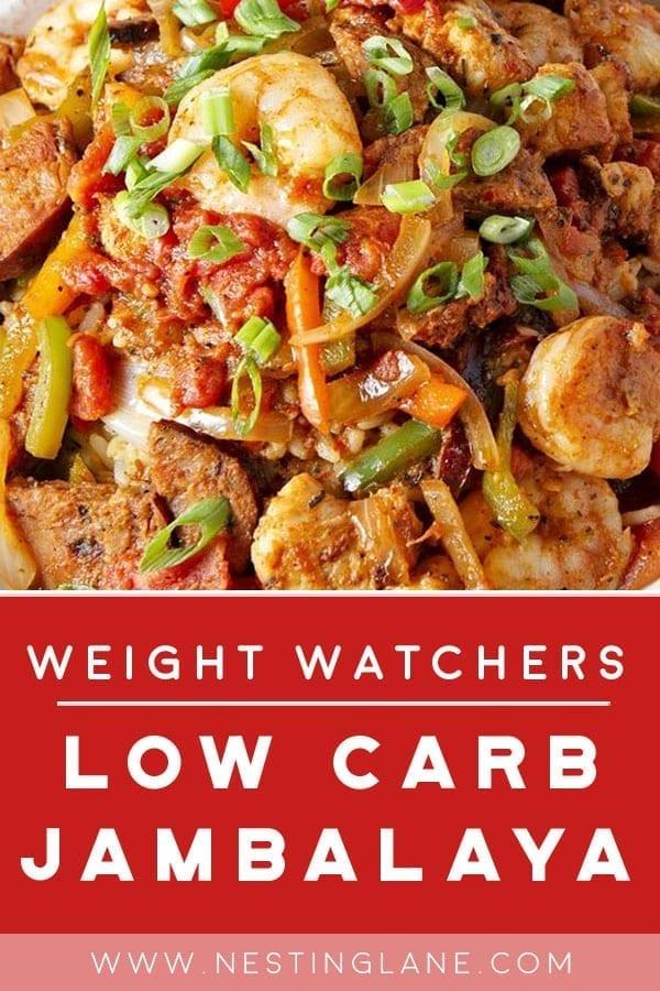 Weight Watchers Low Carb Jambalaya