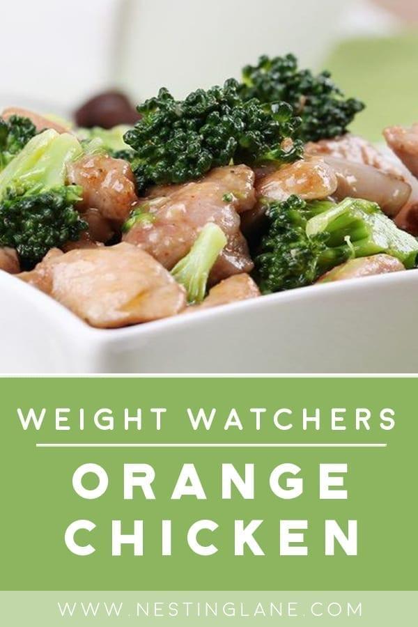 Weight Watchers Orange Chicken