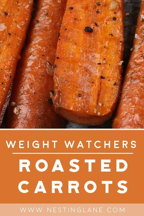 Weight Watchers Roasted Carrots