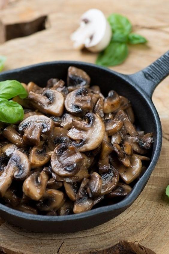 Weight Watchers Amazing Sauteed Mushrooms
