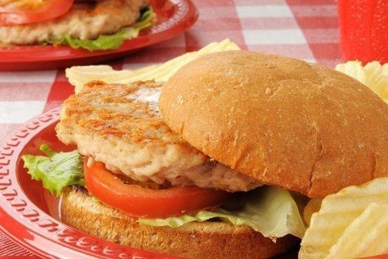 Weight Watchers Turkey Burgers