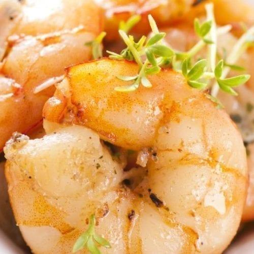 Weight Watchers Spicy Garlic Shrimp