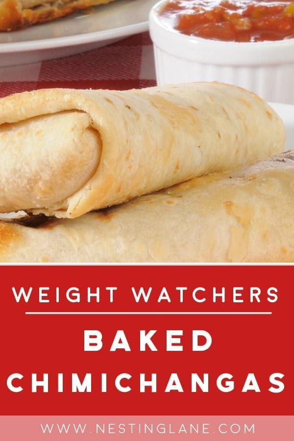 Weight Watchers Baked Chimichangas