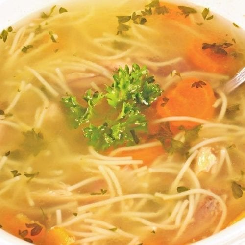 Weight Watchers Chicken Noodle Soup