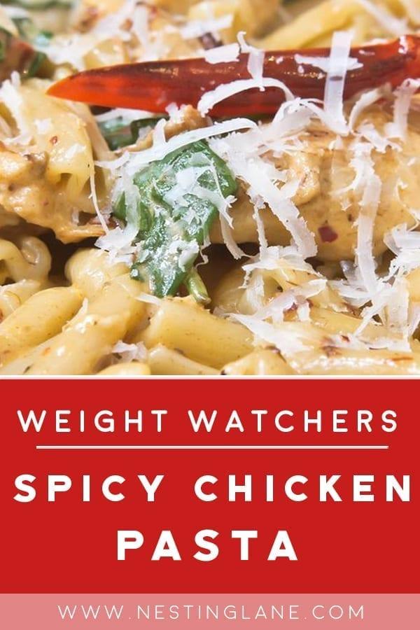 Weight Watchers Spicy Chicken Pasta