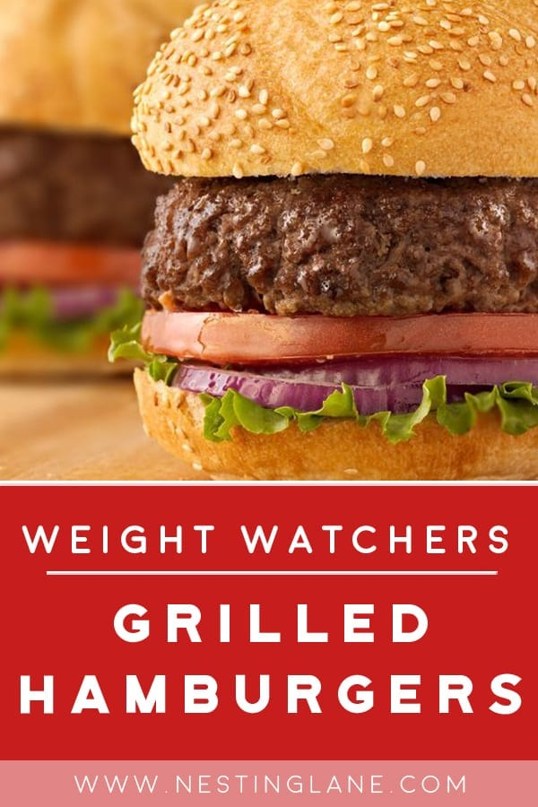 Weight Watchers Grilled Hamburger