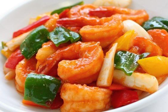 Weight Watchers Hunan Shrimp