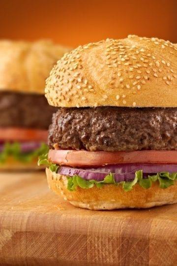 Weight Watchers Grilled Hamburgers Recipe