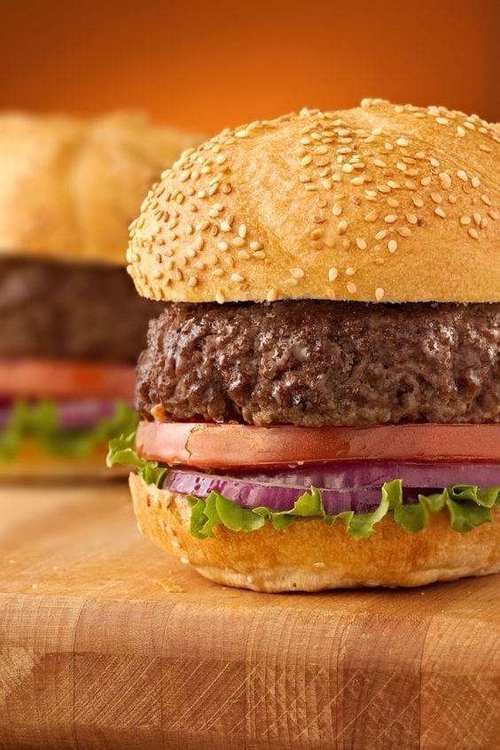 Weight Watchers Grilled Hamburgers