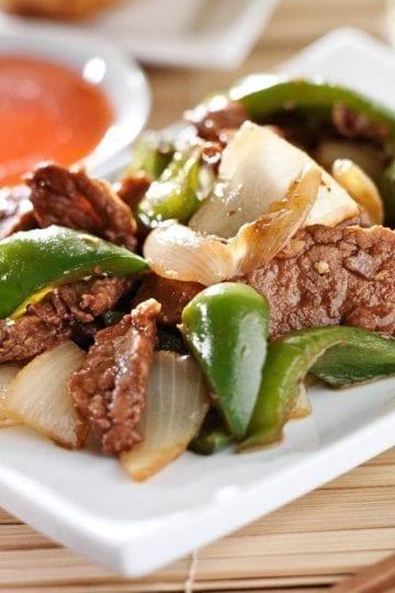 Weight Watchers Slow Cooker Pepper Steak