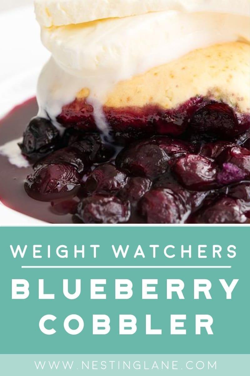 Weight Watchers Blueberry Cobbler Dessert