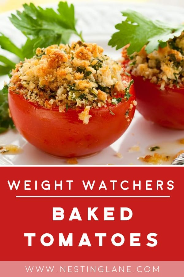 Weight Watchers Baked Tomatoes