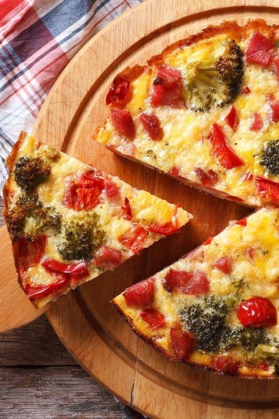 Weight Watchers Broccoli Quiche