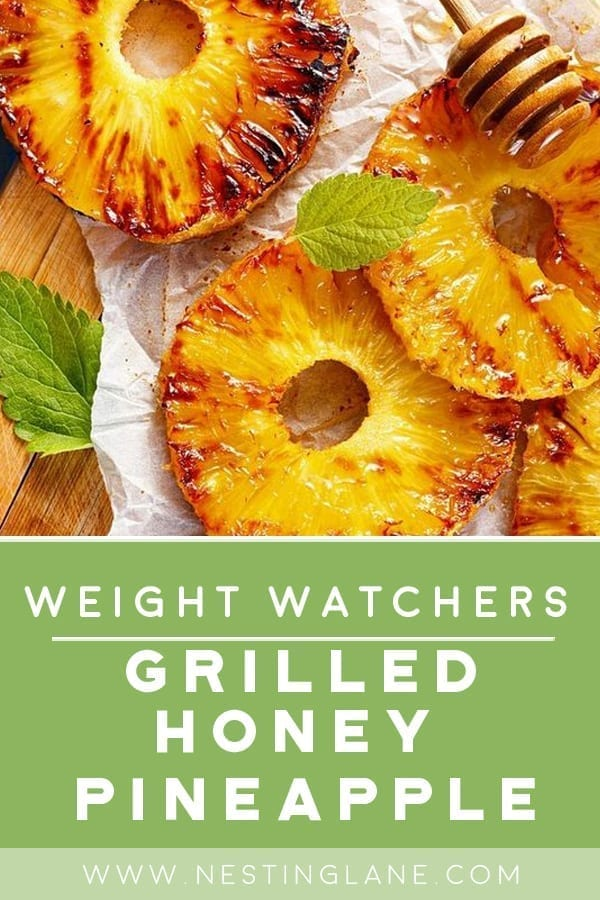 Weight Watchers Grilled Honey Pineapple