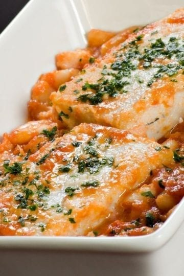 Weight Watchers Mexican Baked Fish