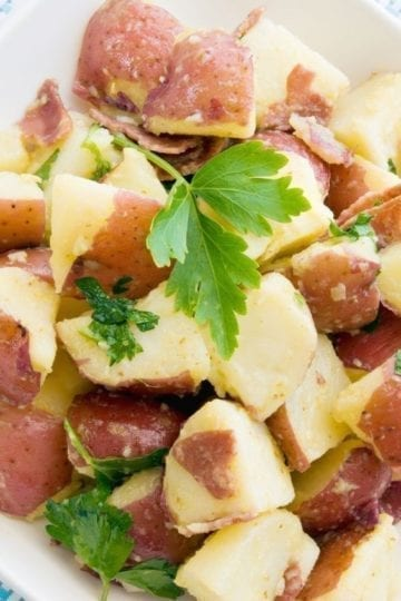 Weight Watchers Potato Salad with Bacon