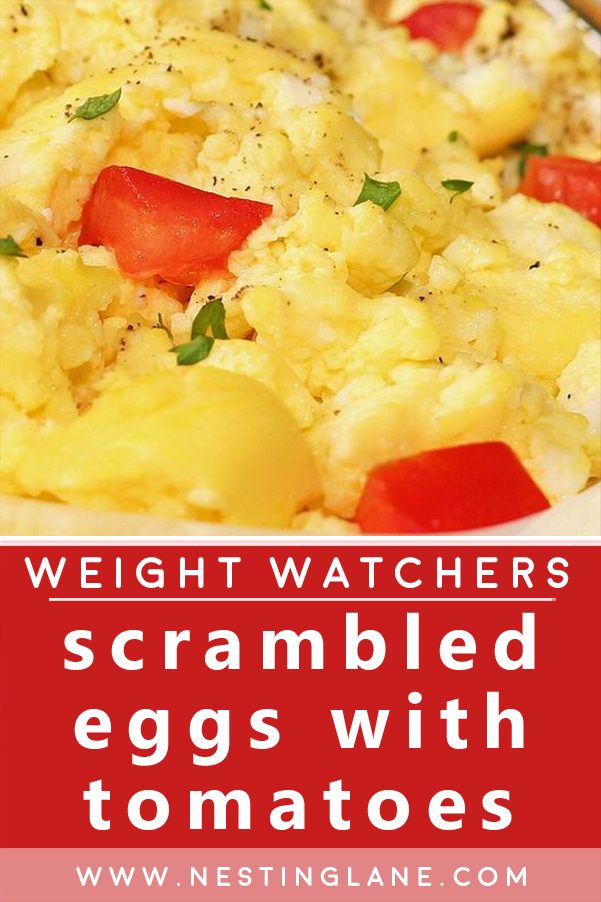 Weight Watchers Scrambled Eggs with Tomatoes