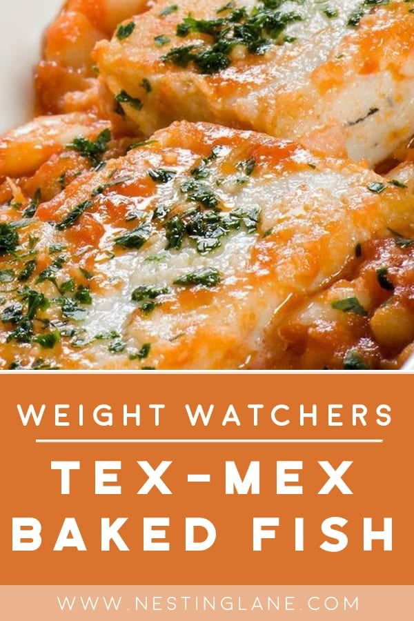 Weight Watchers Tex-Mex Baked Fish