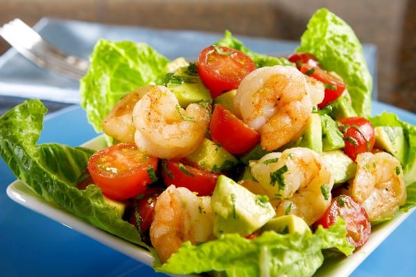Weight Watchers Avocado Shrimp Salad