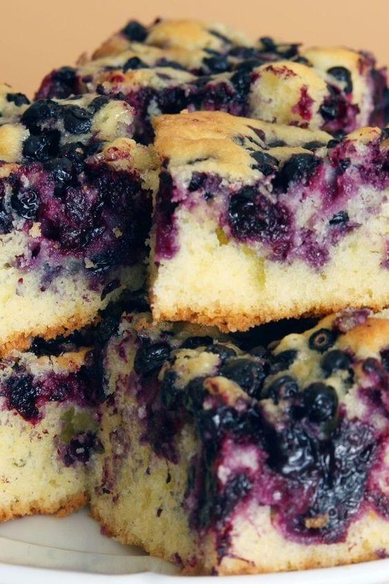 Weight Watchers Blueberry Cake