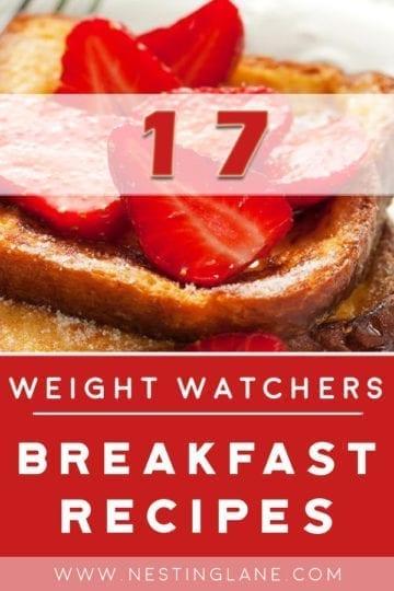 17 Weight Watchers Breakfast Recipes