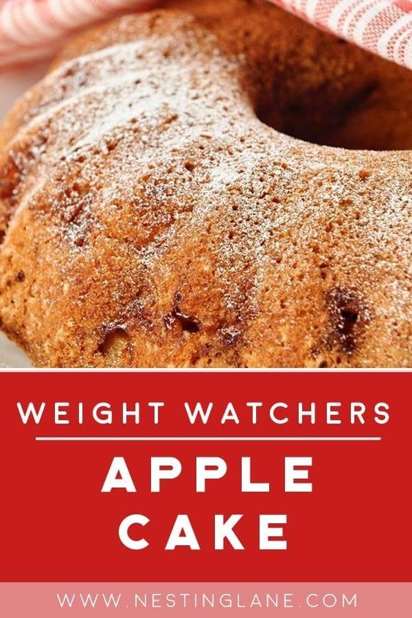 Weight Watchers Apple Cake