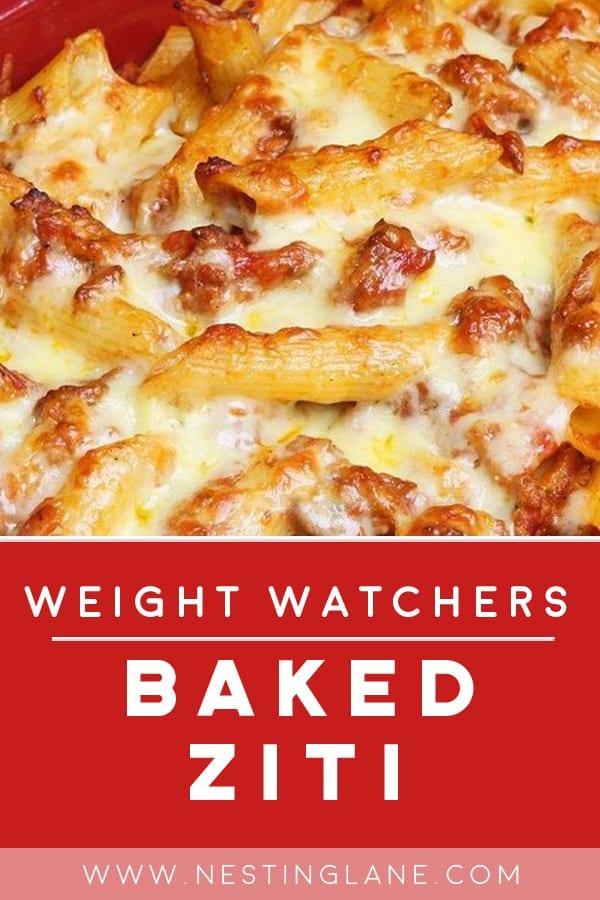 Weight Watchers Baked Ziti