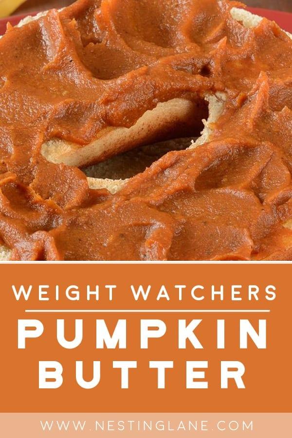 Weight Watchers Pumpkin Butter