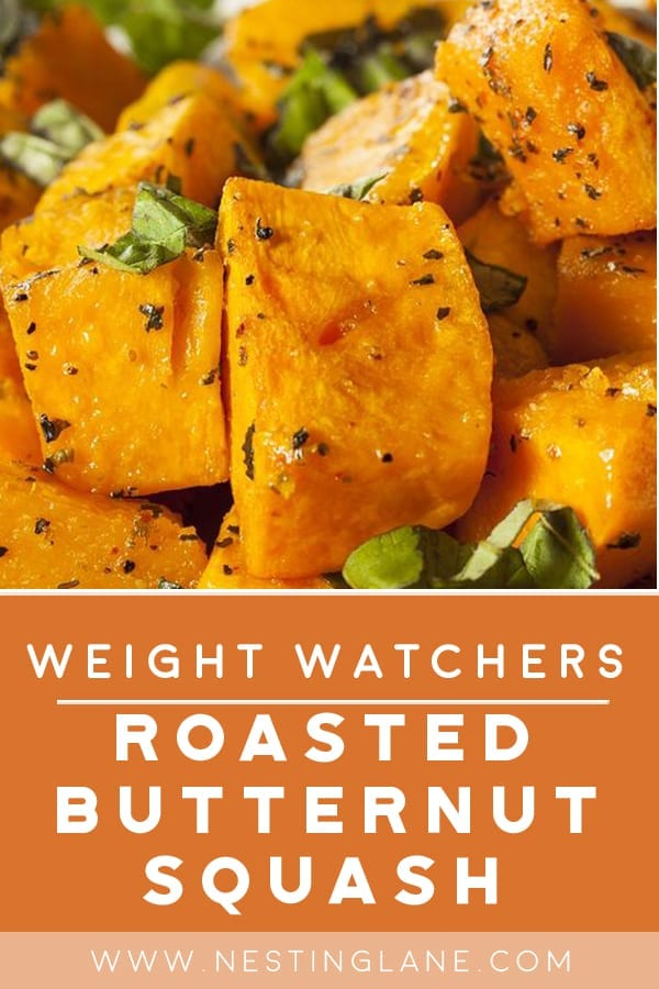 Weight Watchers Roasted Butternut Squash