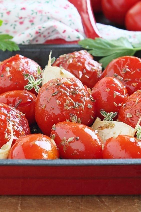 Weight Watchers Roasted Garlic Tomatoes